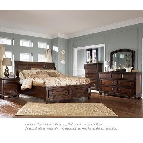 Ashley Furniture Porter 4PC King Bedroom