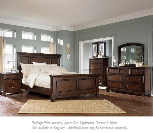 Ashley Furniture Porter 4PC Queen Bedroom