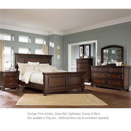 Ashley Furniture Porter 4pc Queen Bedroom Miskelly Furniture Bedroom Group Jackson Mississippi