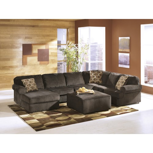 Ashley Furniture Vista Chocolate Stationary Living Room