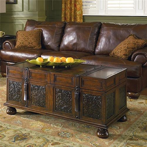 Signature Design By Ashley Mckenna Storage Cocktail Table Turk Furniture Cocktail Or Coffee