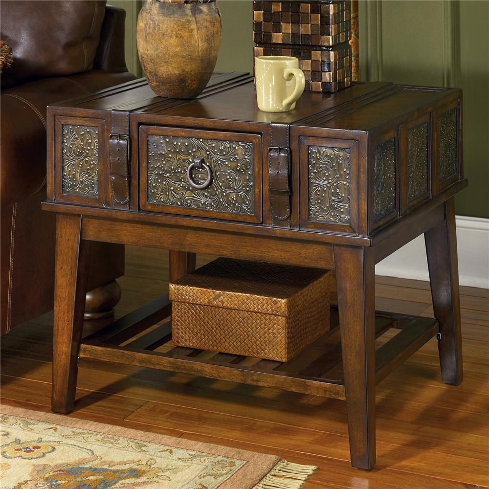 Signature Design by Ashley McKenna Rectangular End Table