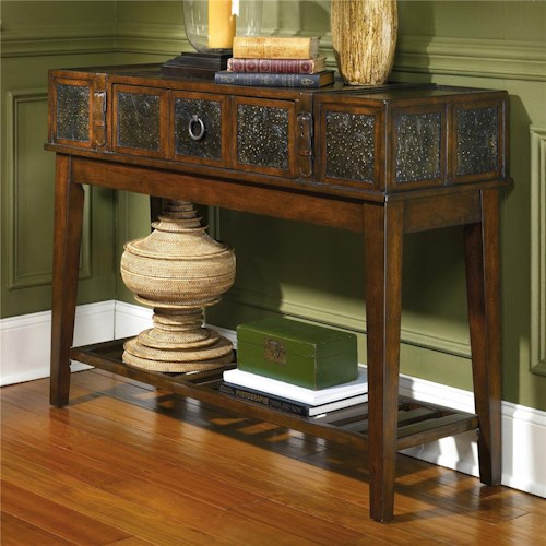 Signature design by ashley mckenna sofa table royal for T furniture okolona ms