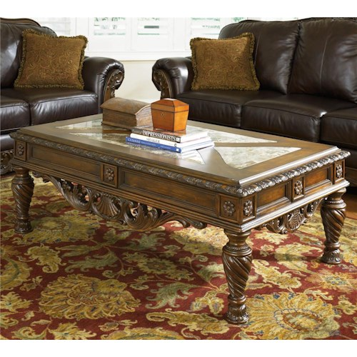 Millennium north shore rectangular cocktail table royal for T furniture okolona ms