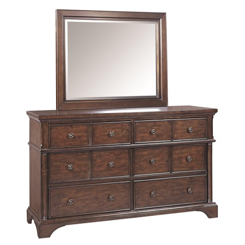 Aspenhome Bancroft Dresser And Mirror Hudson 39 S Furniture