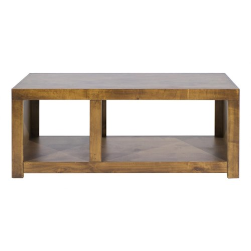 Aspenhome Contemporary Alder Cocktail Table Homeworld Furniture Cocktail Coffee Tables
