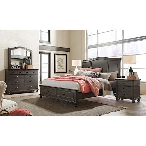 Aspenhome Oxford Queen Bedroom Group Wayside Furniture