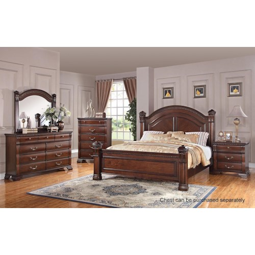 Austin Group Isabella 527 Bedroom Group Royal Furniture Bedroom Groups Memphis Jackson