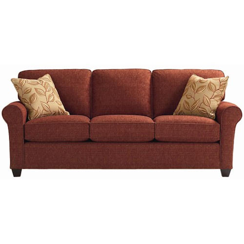 Bassett Brewster Upholstered Stationary Sofa Dunk