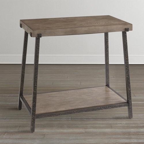 Bassett Compass Chairside Table Wayside Furniture End