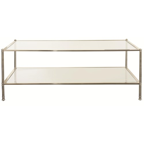 Bassett Metropolitan Rectangular Cocktail Table Wayside Furniture Cocktail Or Coffee Table