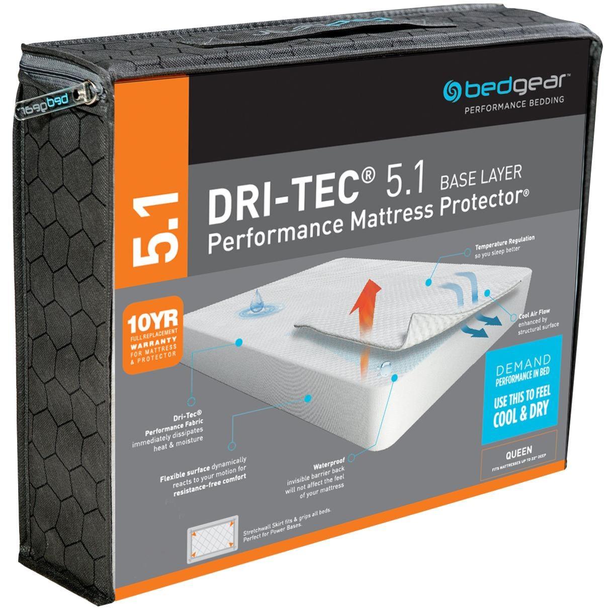Bedgear Dri Tec 5 1 Dri Tec Full Wicking Waterproof
