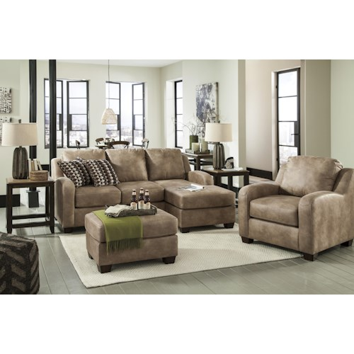 Benchcraft Alturo Stationary Living Room Group Fashion Furniture Upholstery Group Fresno Madera
