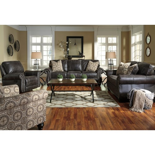 Benchcraft Breville Stationary Living Room Group Miskelly Furniture Upholstery Group Jackson