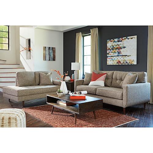 Benchcraft Chento Stationary Living Room Group Pilgrim Furniture City Sta
