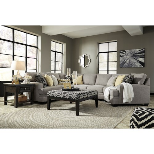 Benchcraft Cresson Stationary Living Room Group Wayside Furniture Station