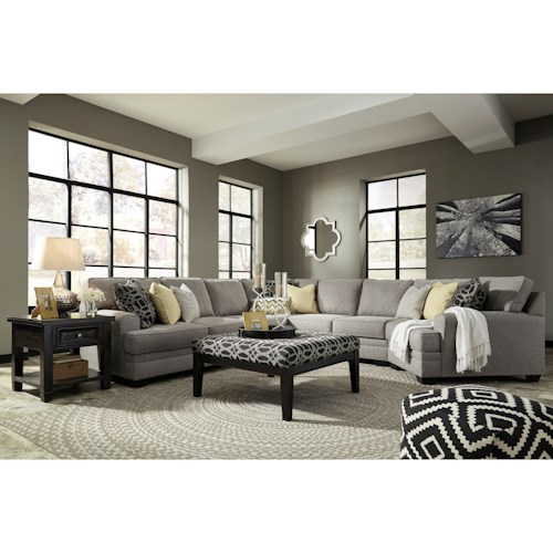 Benchcraft Cresson Stationary Living Room Group Wayside Furniture Station