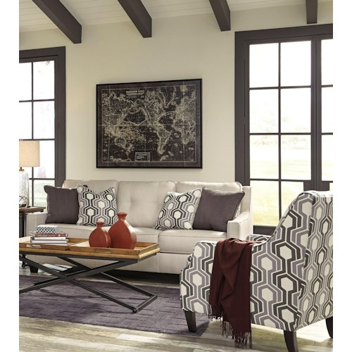 Benchcraft Guillerno Stationary Living Room Group Wayside Furniture Stati