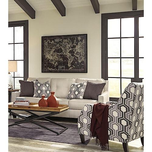 Benchcraft Guillerno Stationary Living Room Group Royal Furniture Stationary Living Room