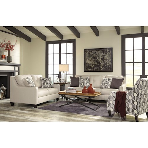 Benchcraft Guillerno Stationary Living Room Group Marlo Furniture Station