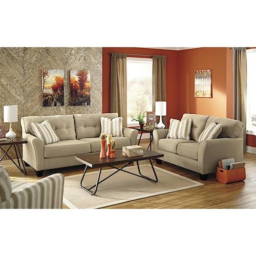 Benchcraft Laryn Stationary Living Room Group Value City Furniture Uphols