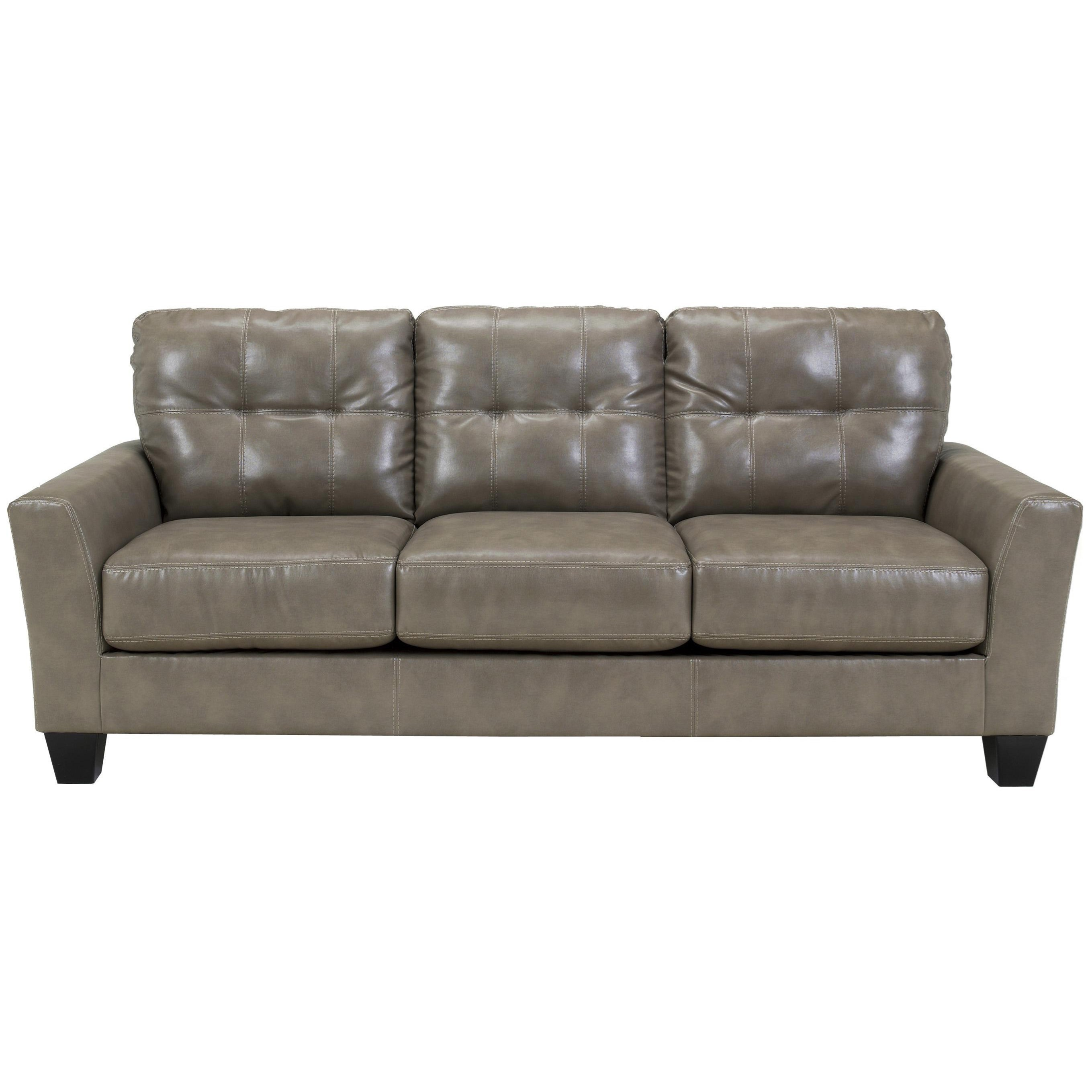 Benchcraft Paulie DuraBlendu00ae - Quarry Contemporary Sofa with Tufted Detailing - Ivan Smith ...
