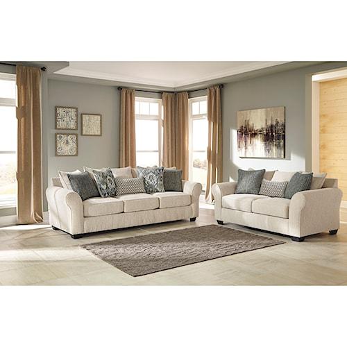 Benchcraft Silsbee Stationary Living Room Group Marlo Furniture Stationar