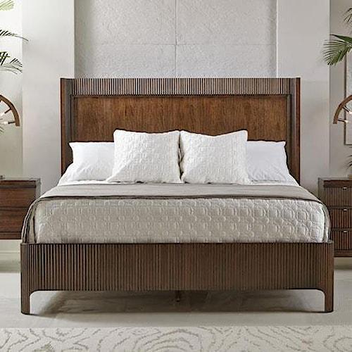 Bernhardt Beverly Glen 361 H63 Fr63 King Panel Bed Baer