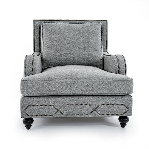 Bernhardt Franklin B4822A GRAY Chair Baer 39 S Furniture Upholstered Cha