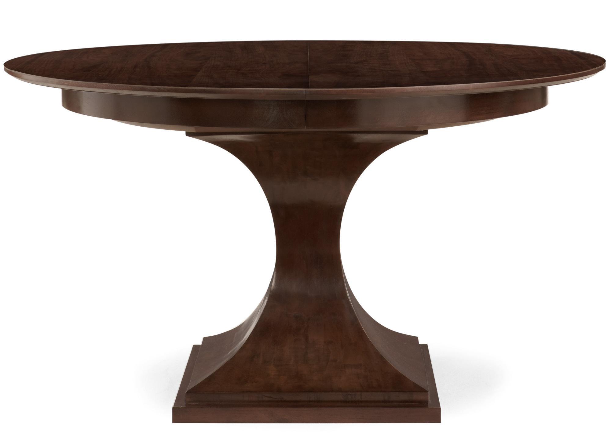Bernhardt Haven Single Pedestal Round Dining Table