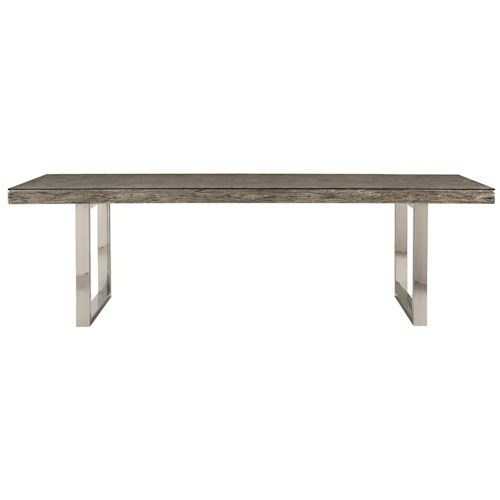 Bernhardt henley rustic modern dining table 106 sprintz for Dining table nashville tn