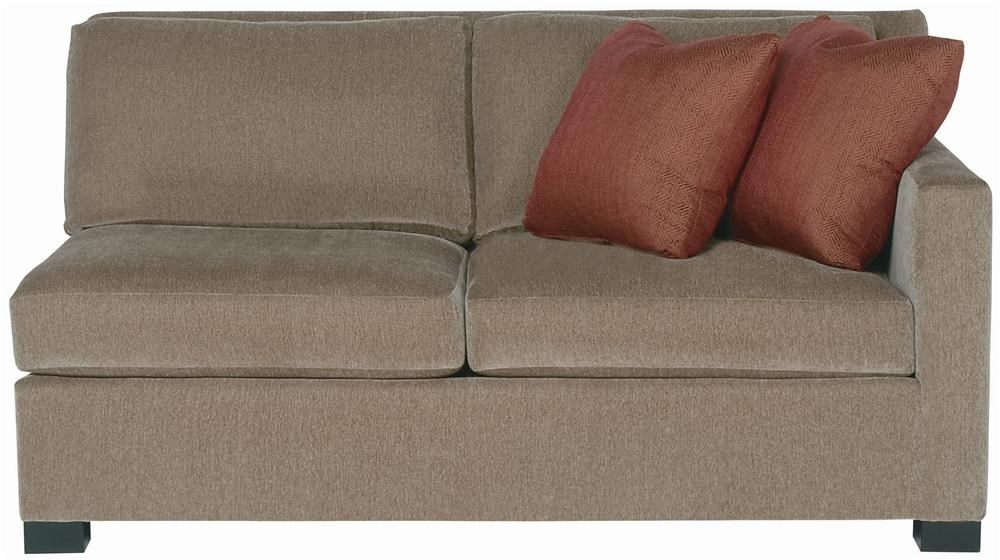 Bernhardt Interiors Kelsey Right Arm Loveseat Dunk