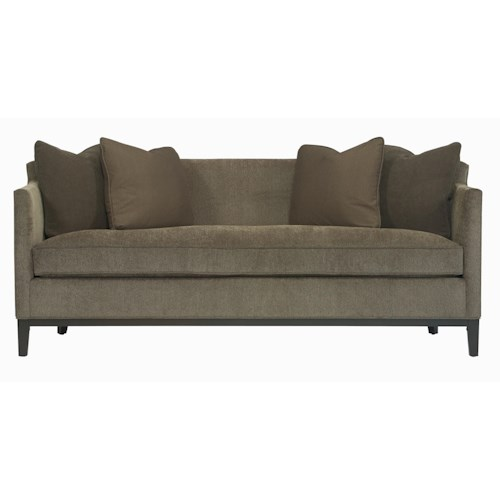 Bernhardt interiors sofas ellis sofa with track arms for Bernhardt sectional sofa furniture