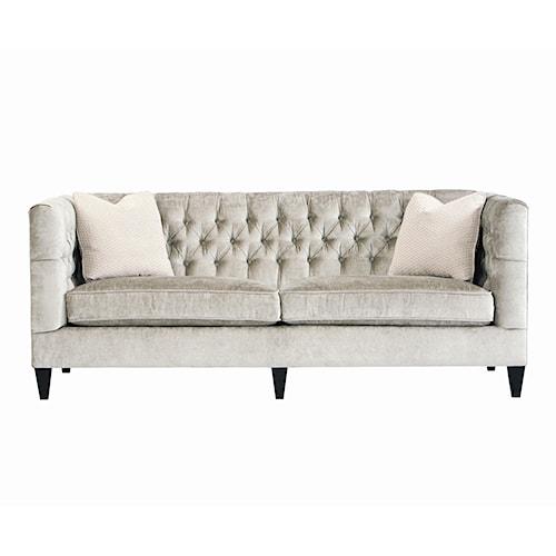 Bernhardt interiors sofas n8817 beckett sofa baer 39 s - Living room furniture fort myers fl ...