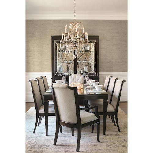 home formal dining room group bernhardt sutton house dining room group