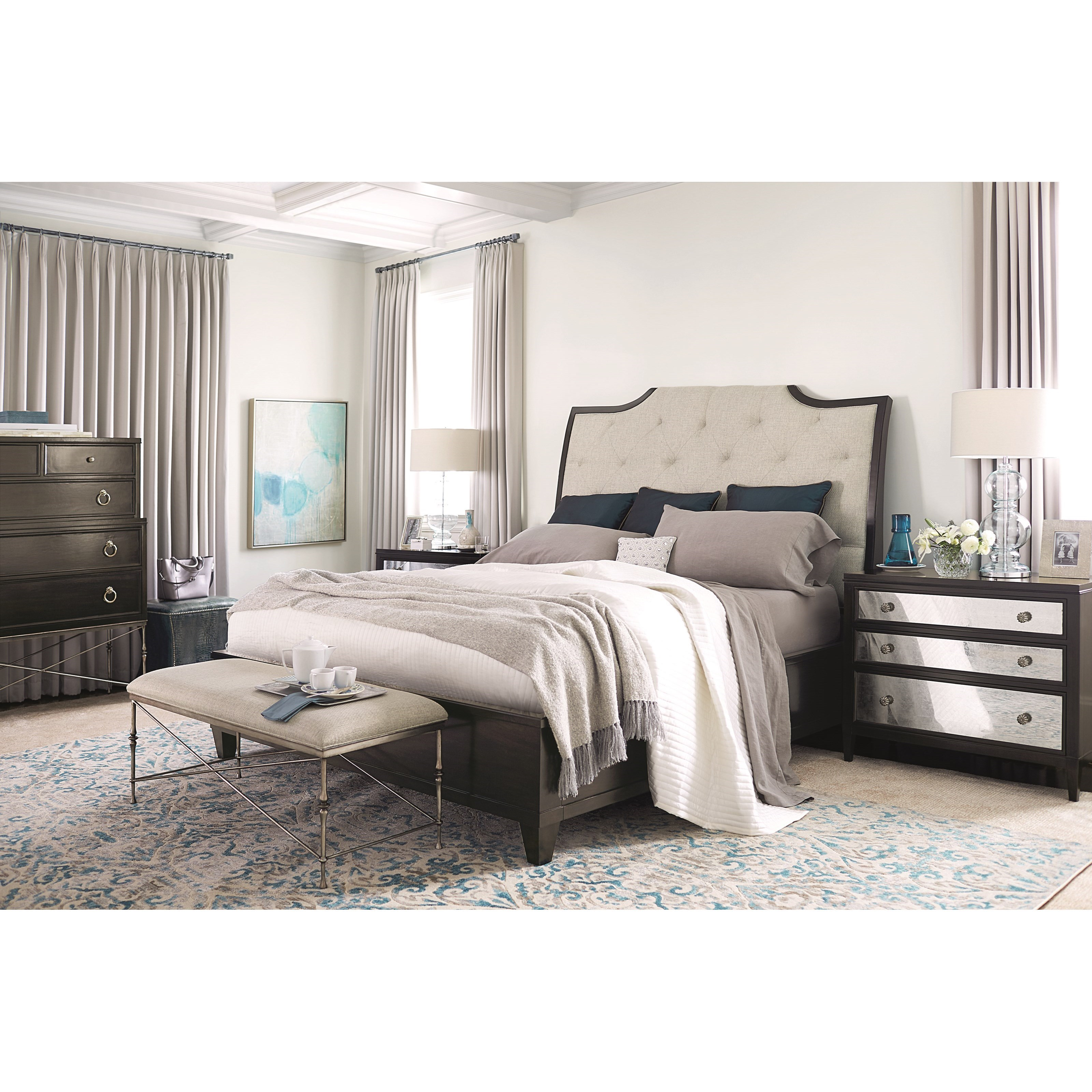 Bernhardt Sutton House King Bedroom Group Wayside