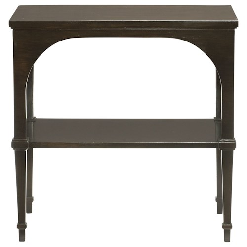 Bernhardt Sutton House End Table With Shelf Belfort Furniture End Table