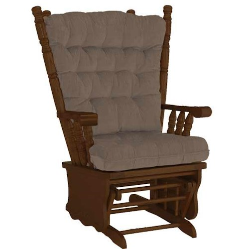 Best home furnishings bordeaux collection glider rocker for Ivan smith furniture