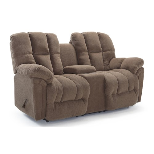 Best Home Furnishings Lucas Casual Plush Rocking Reclining