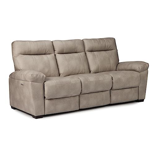 Home Living Room Furniture Reclining Sofa Best Home Furnishings Makena