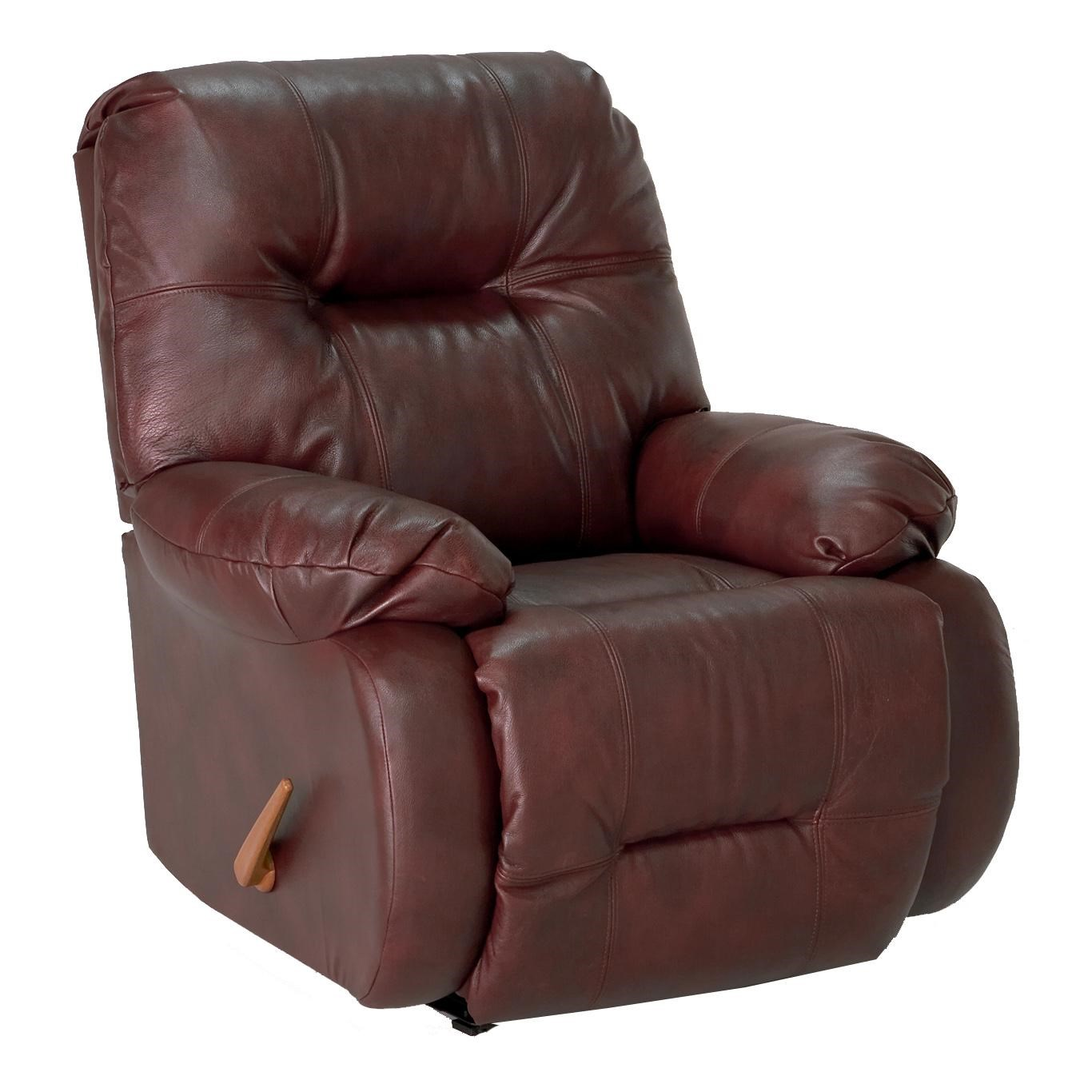 Best Home Furnishings Recliners - Medium Brinley Swivel Glide Recliner : Hudsonu0026#39;s Furniture ...