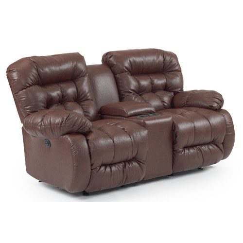 Best Home Furnishings Plusher Rocker Reclining Loveseat