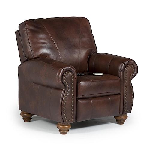 Home Living Room Furniture High Leg Recliners Best Home Furnishings