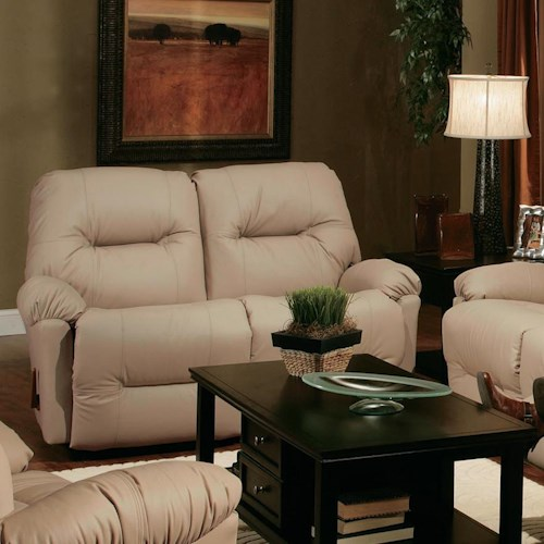 best home furnishings redford l500ca4 motion loveseat