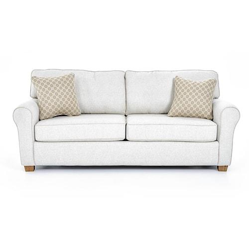 Best Home Furnishings Shannon S14AQ Queen Sofa Sleeper W