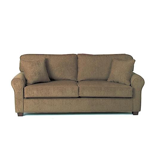 Best Home Furnishings Shannon Queen Sofa Sleeper W Air Dream Mattress Hudson 39 S Furniture