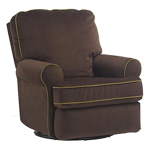 Vendor 411 Tryp Swivel Glider Recliner Becker Furniture