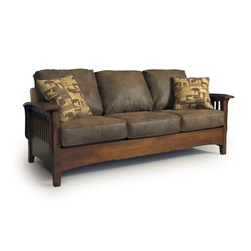Best home furnishings westney upholstered sofa turk for Best home furnishings