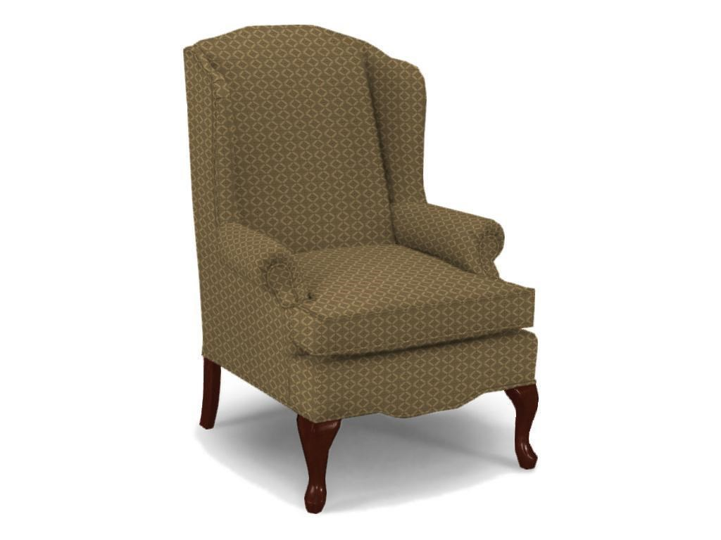 Best Home Furnishings Chairs Wing Back Esther Queen Anne
