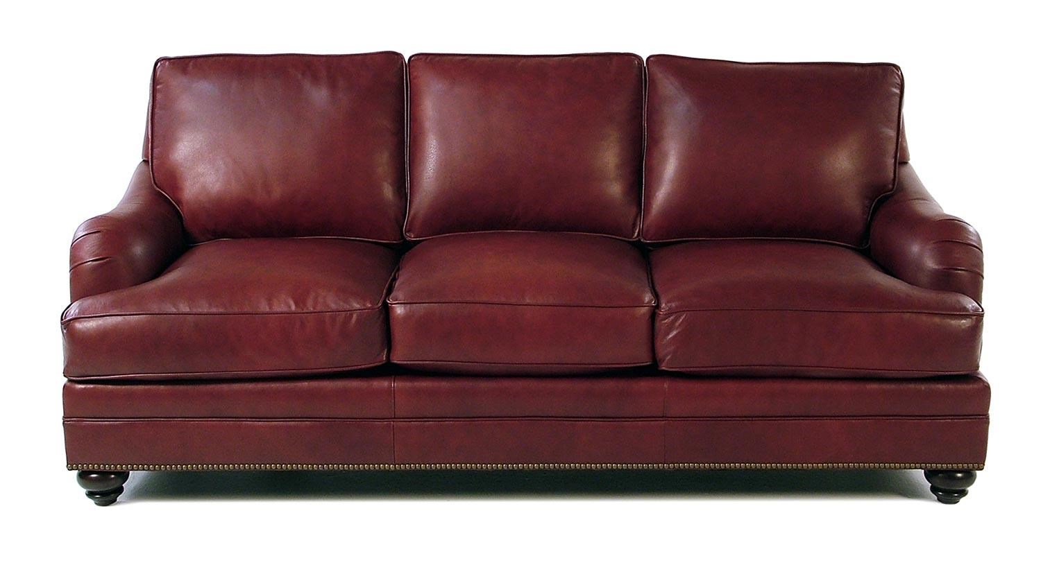 So You Traditional Sofa with English Arms and Turned Legs